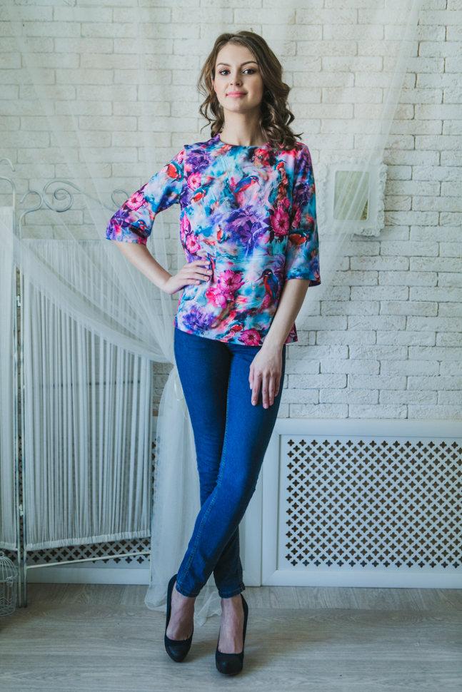 Купить женские блузки оптом в новосибирске